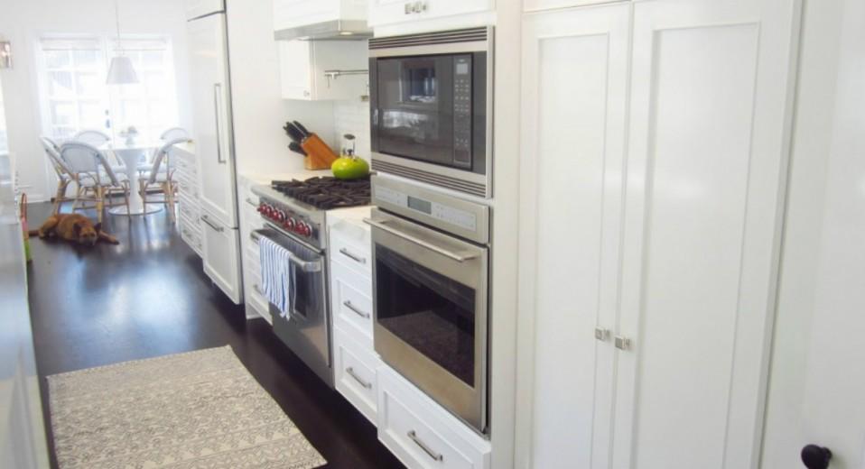 Cocina americana con dos hornos