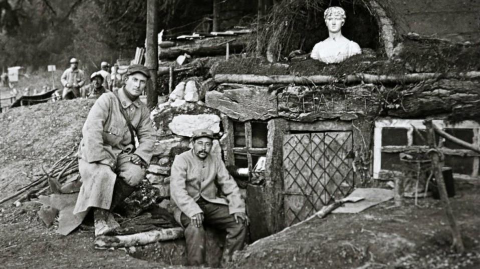 Soldados en la I Guerra Mundial