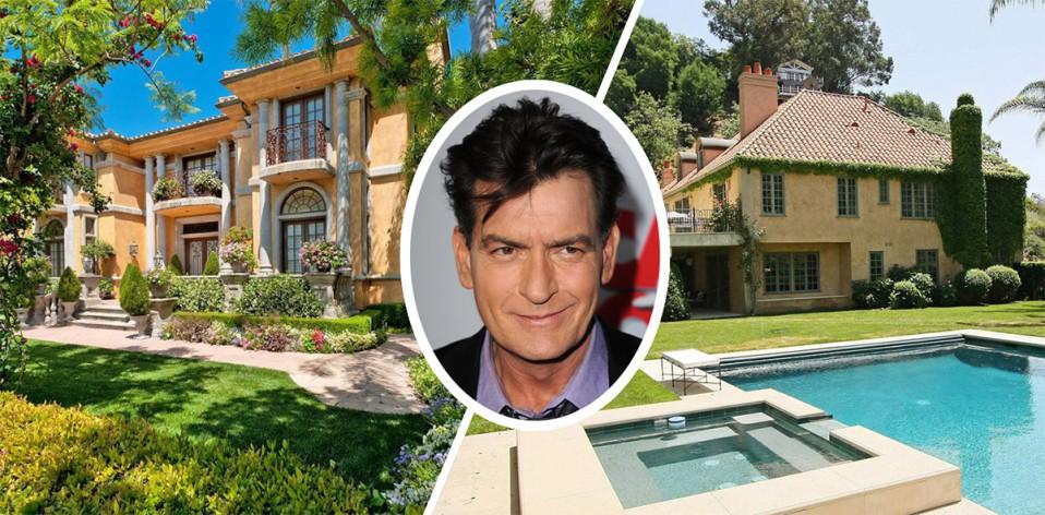 Charlie Sheen vende su mansión