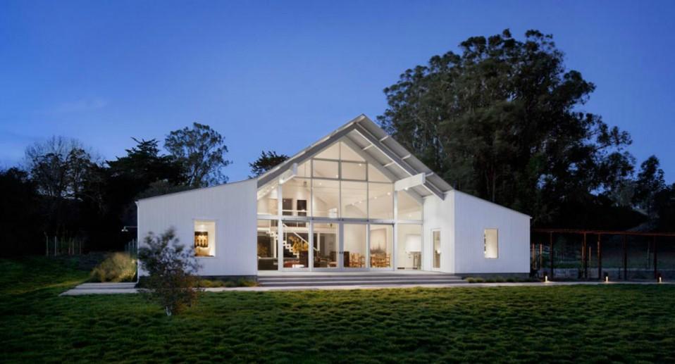 La casa de campo ecológica en California