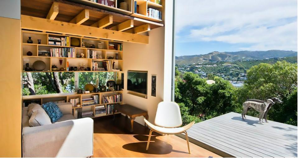 La casa con vista panorámica