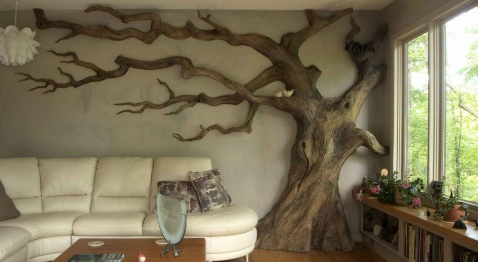 Ideas De Decoracion Como Tener Una Casa Salvaje Gracias A Los - Arboles-de-decoracion