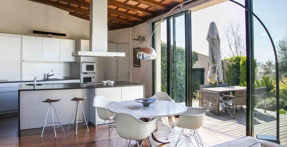 Una bonita cocina de diseño