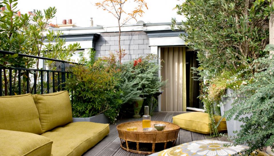 Ideas de decoracin as se convierte una simple terraza en la