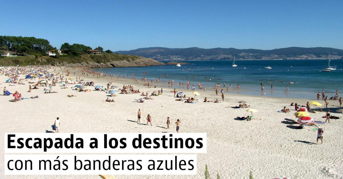Las costas con más playas con bandera azul para este verano