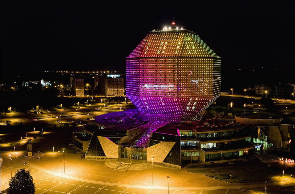 Biblioteca Nacional de Bielorrusia. GVA Lightning