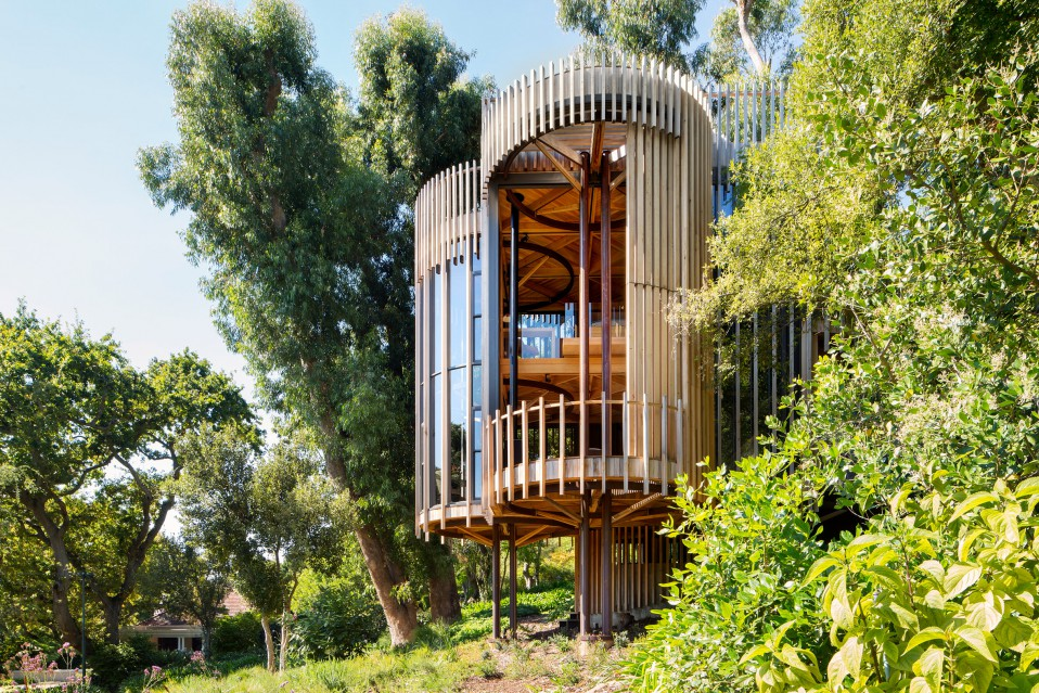 Casas de ensueo una increble villa con forma de rbol en