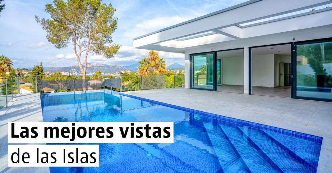 Viviendas de lujo con vistas de las Islas Canarias y Baleares