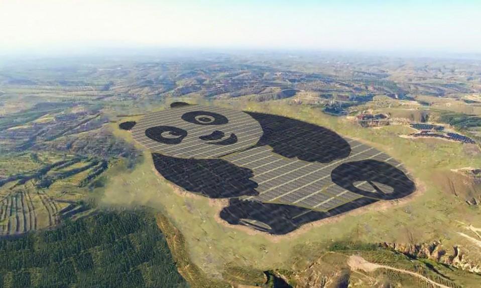 Granja solar en China / Panda Green Energy