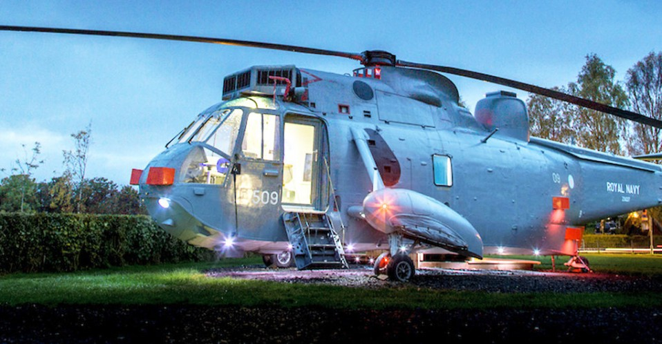 Helicopter Glamping