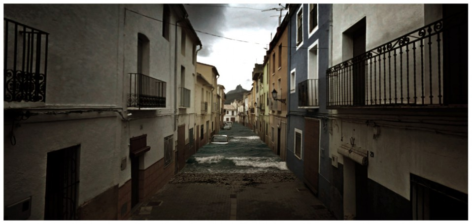 cinemascapes: my street view edition - Spanish floods / Aaron Hobson