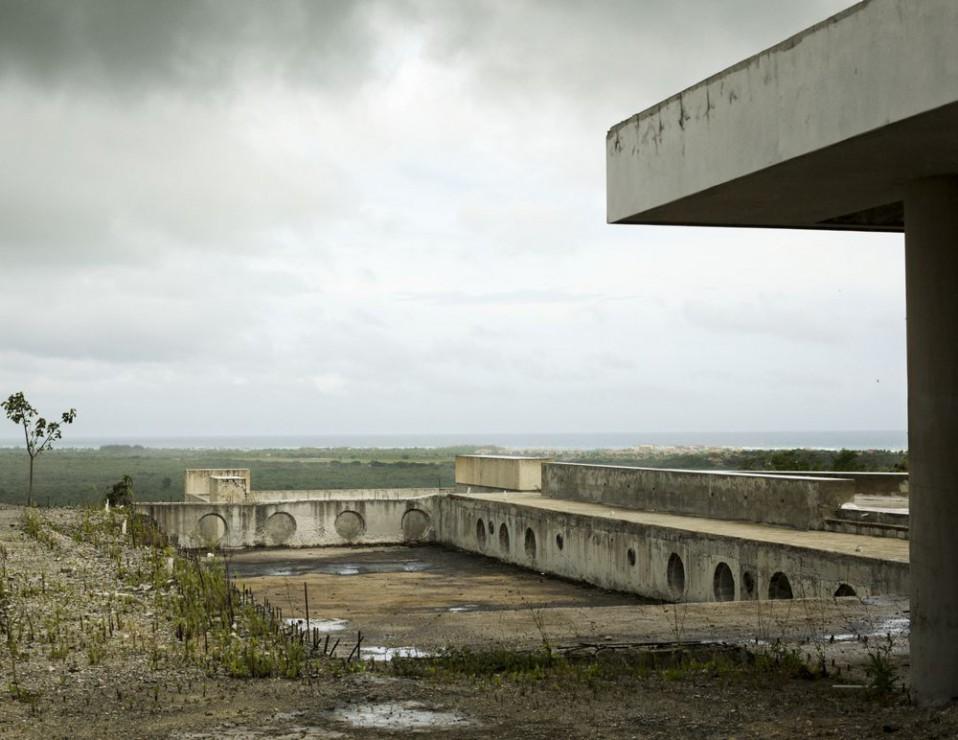Imagen de los edificios inacabados del Trump Farallón Estates / Bloomberg BusinessWeek