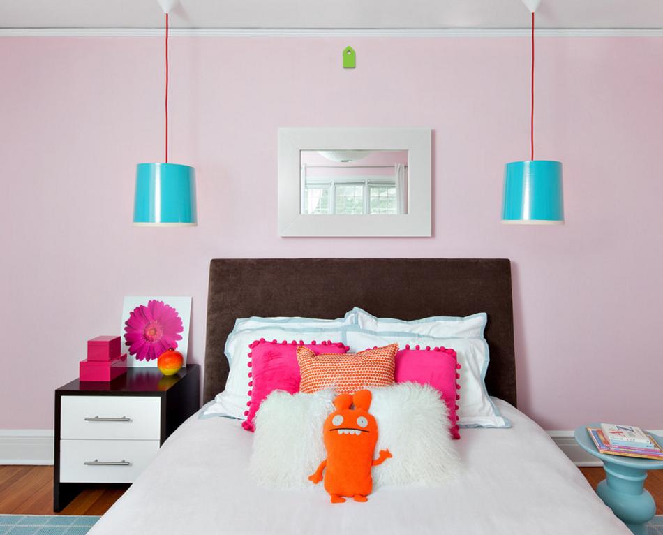 Ideas de decoracin cmo usar el color rosa en el dormitorio