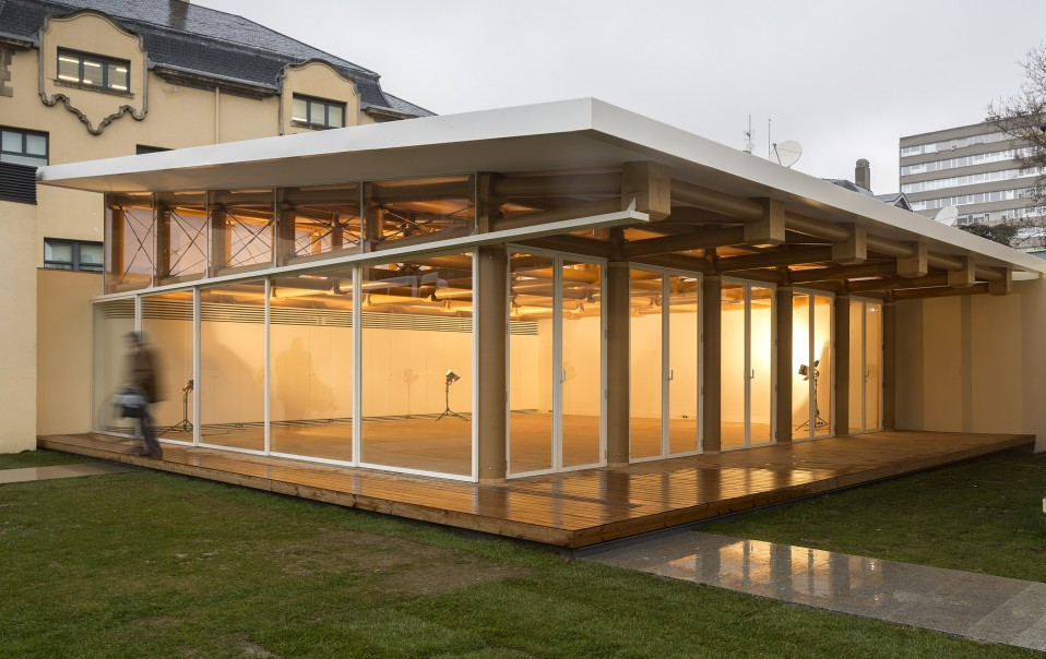 Paper Pavilion IE university