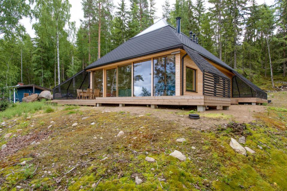 La casa pirámide de Finlandia