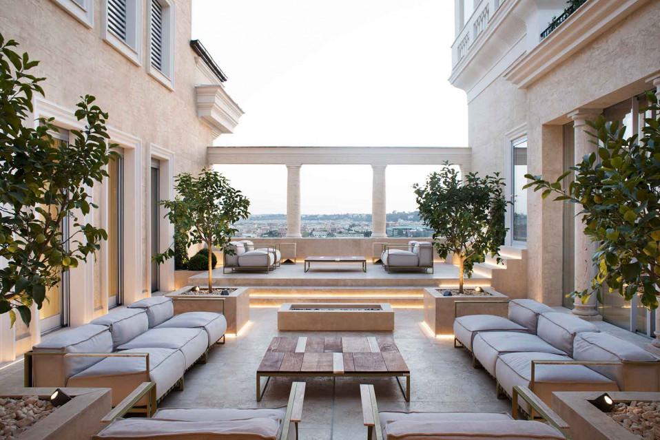 La vida se abre en la Villa sul Palazzo