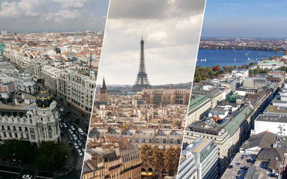 Resultado de imagen de fotos varias ciudades de Europa