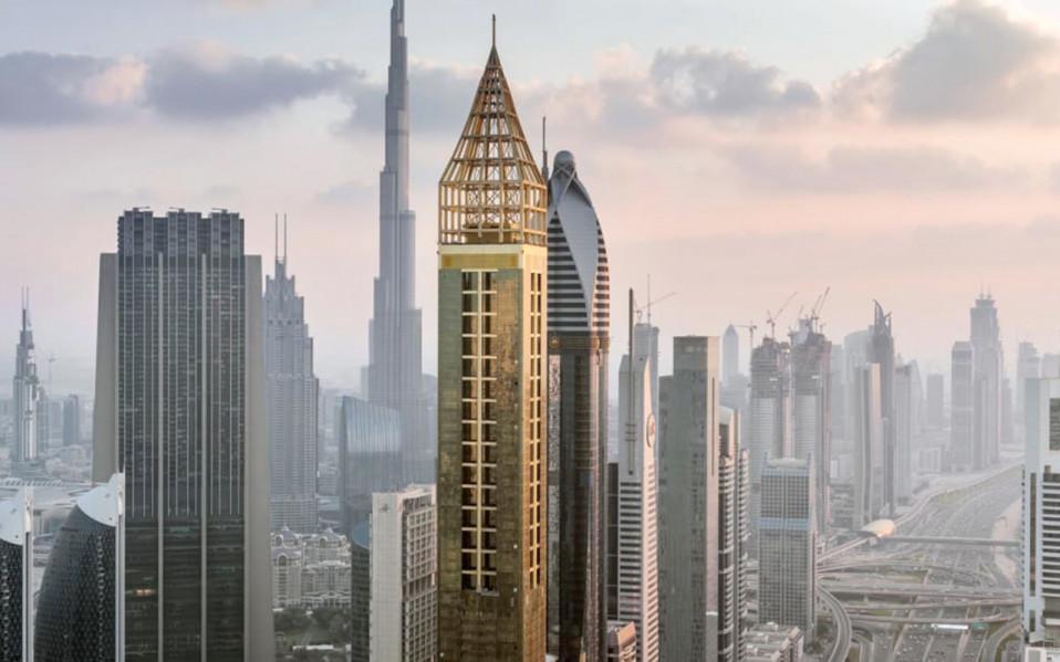 Un hotel de 357 metros de altura