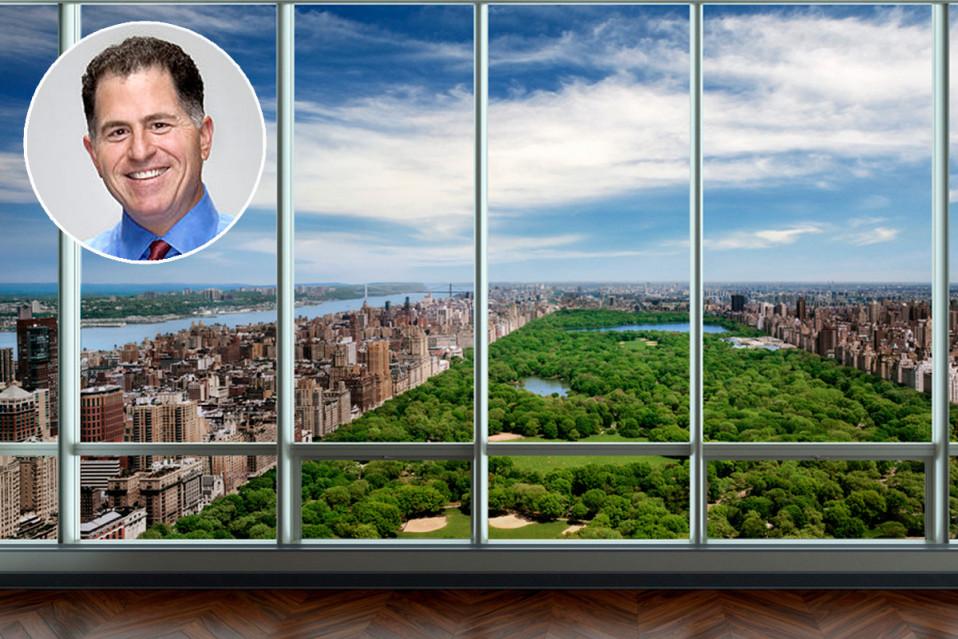 Las vistas de Central Park desde el ático son espectaculares