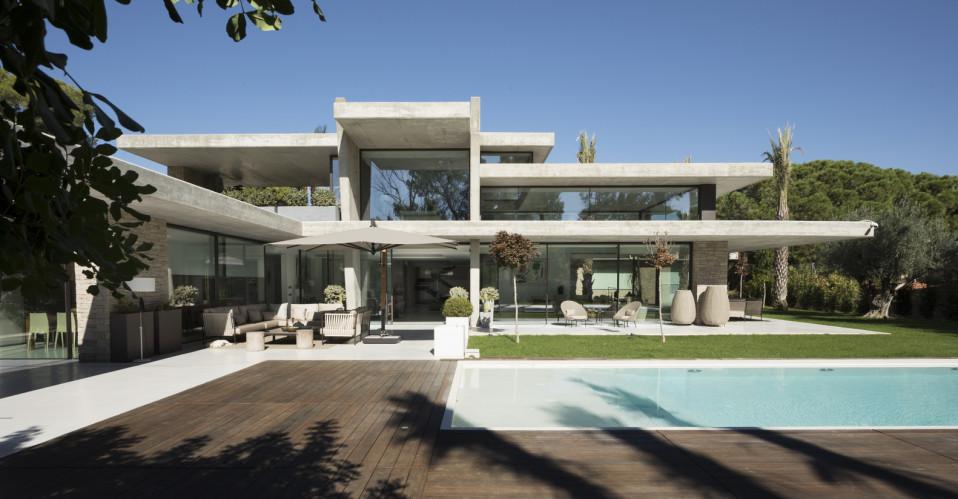 Una vivienda de lujo en Godella (Valencia)