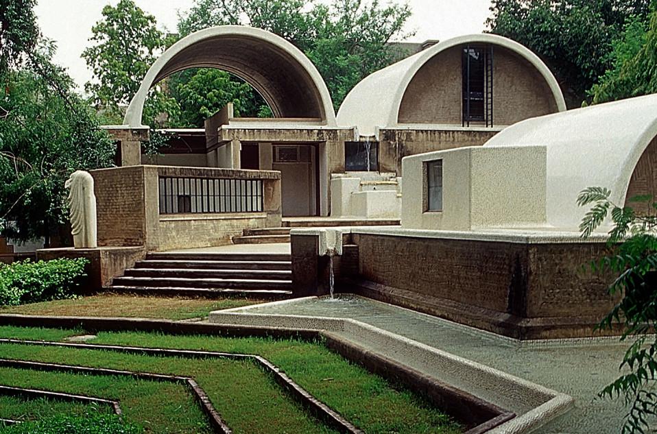Sangath, el estudio de arquitectura de Doshi