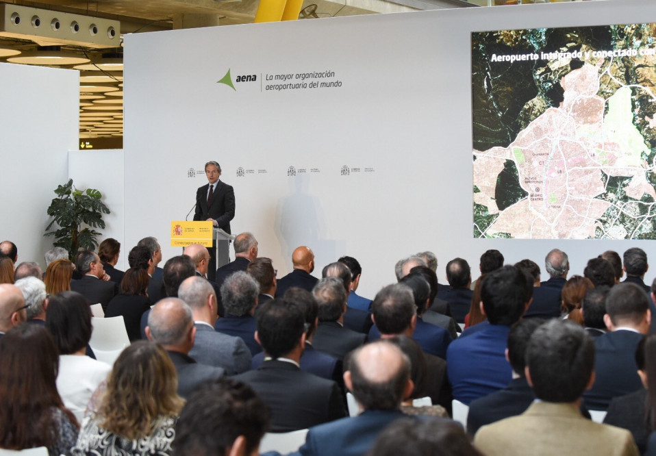 El ministro de Fomento Íñigo de la Serna durante la presentación / Ministerio de Fomento