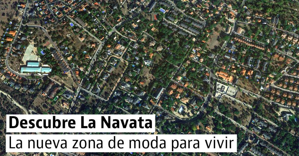 Imagen aérea de La Navata