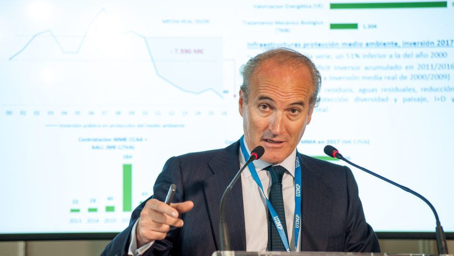 Julián Núñez, presidente de Seopan / Foto: APIE