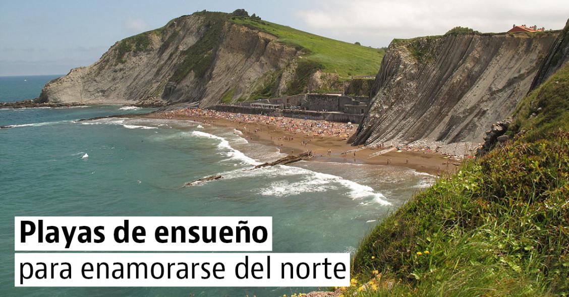 4 playas espectaculares para descubrir y disfrutar del norte de España