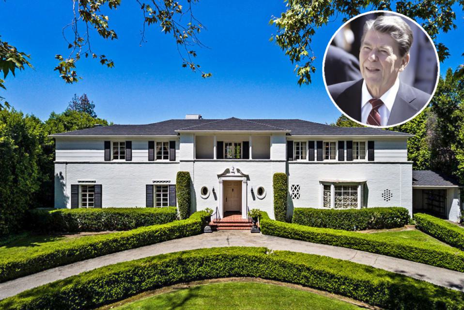 La mansión perteneció al presidente de Estados Unidos, Ronald Reagan, y a su primera mujer, la actriz Jane Wyman / Jeff Ong