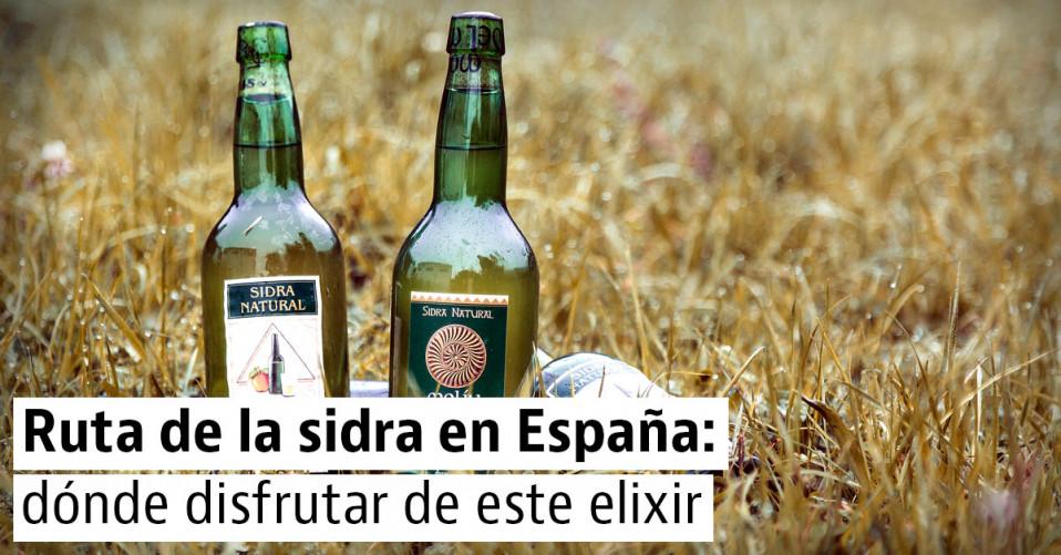 4 rutas para disfrutar de la mejor sidra de España
