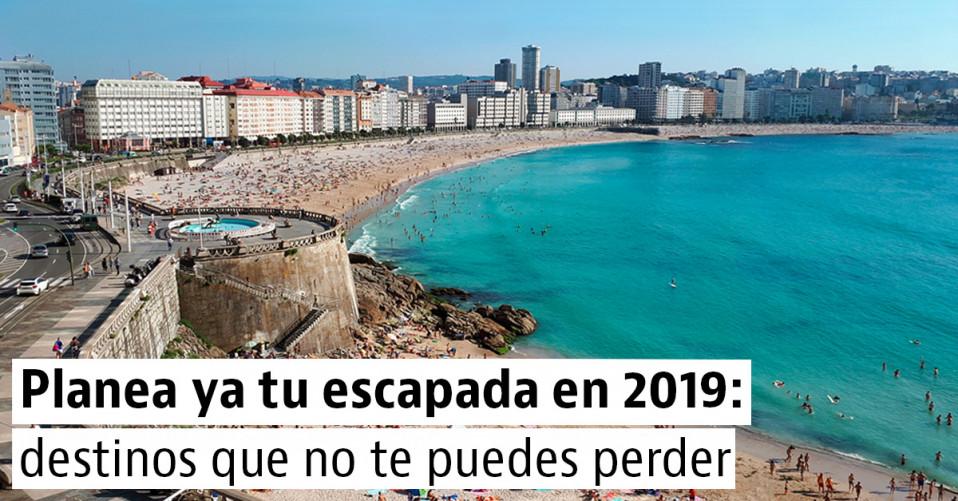 4 ciudades españolas para visitar en 2019