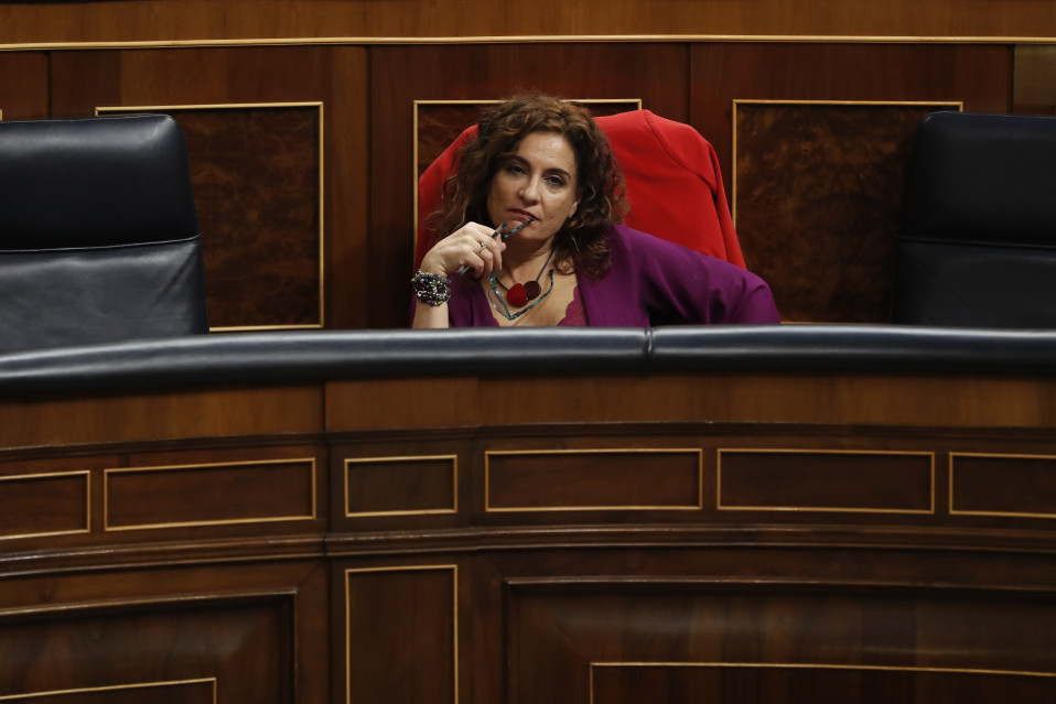 María Jesús Montero, ministra de Hacienda / Gtres