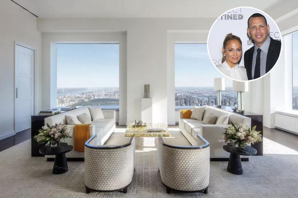 El piso está ubicado en el lujoso edificio 432 Park Avenue, Nueva York / Douglas Elliman