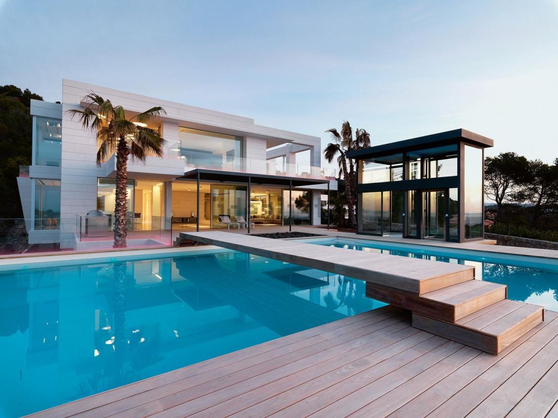 Exterior de la vivienda