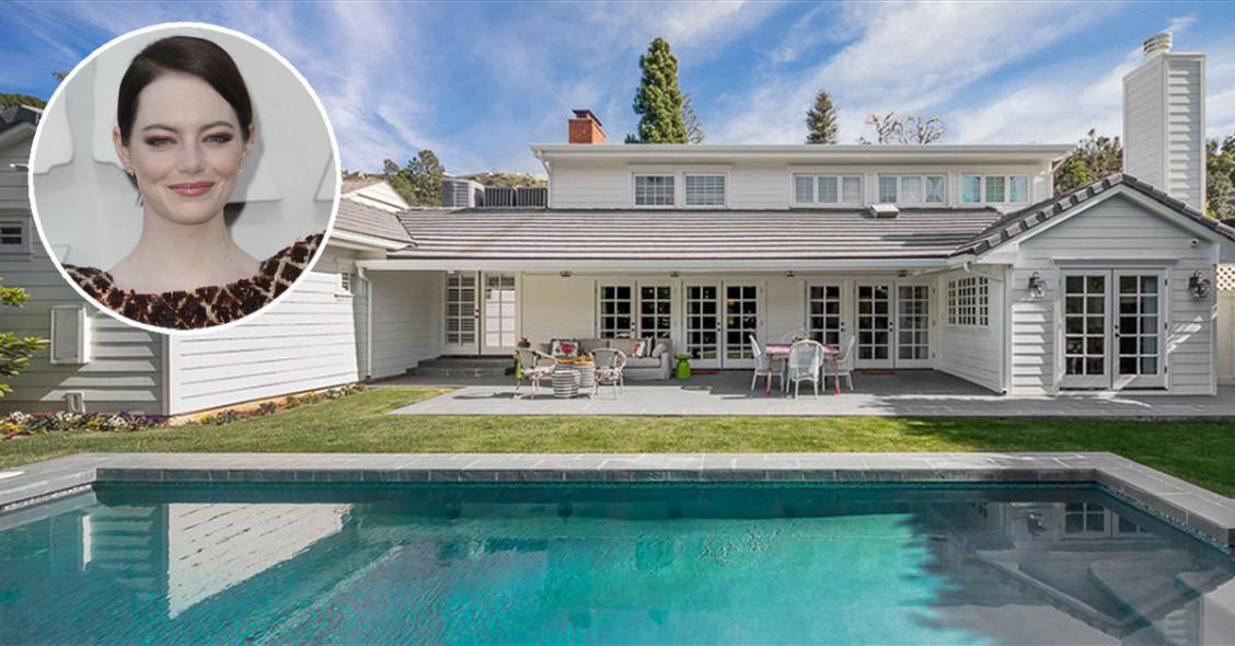 La actriz Emma Stone ha puesto a la venta su mansión en Beverly Hills, California, por 3,9 millones de dólares
