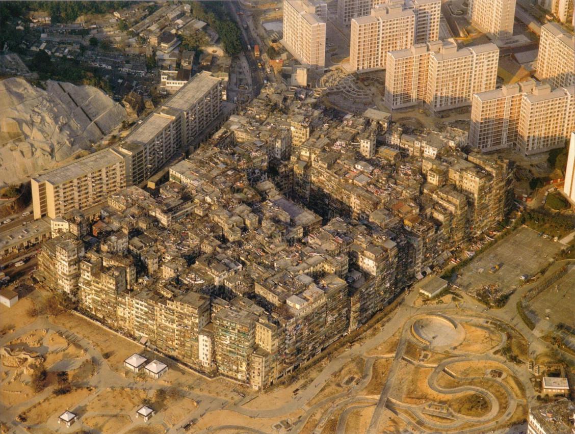 La ciudad amurallada de Kowloon