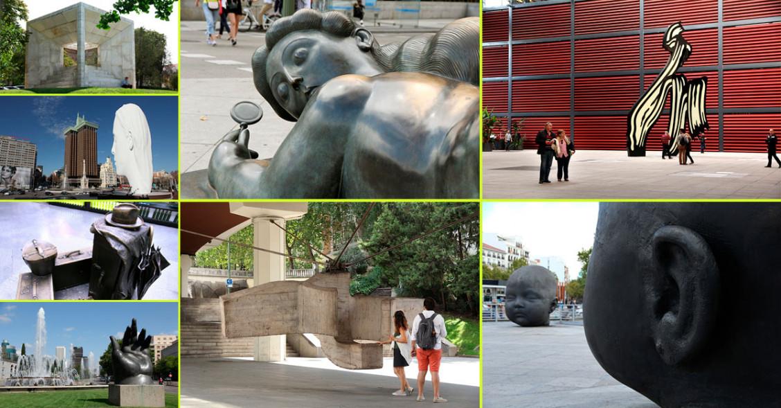 Esculturas madrileñas de renombre a pie de calle
