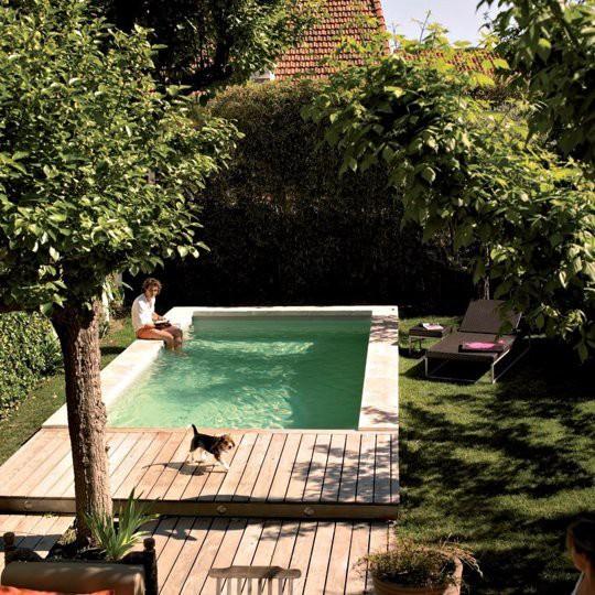 una pequea piscina diseada por piscine desjoyaux va plumetis magazine