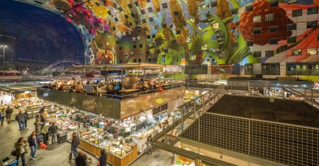Así es el Markthal: el edifico del futuro que ya es presente
