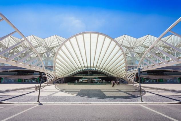 5 - Gare do Oriente, Lisboa, de Santiago Calatrava. Saiko3p