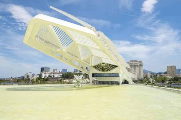 9 - Museu do Amanhã en Rio de Janeiro, Brasil, de Santiago Calatrava. Lazyllama