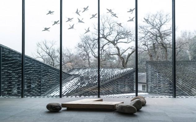 Folk Art Museum, China Academy of Arts, Hangzhou, China, by Kengo Kuma