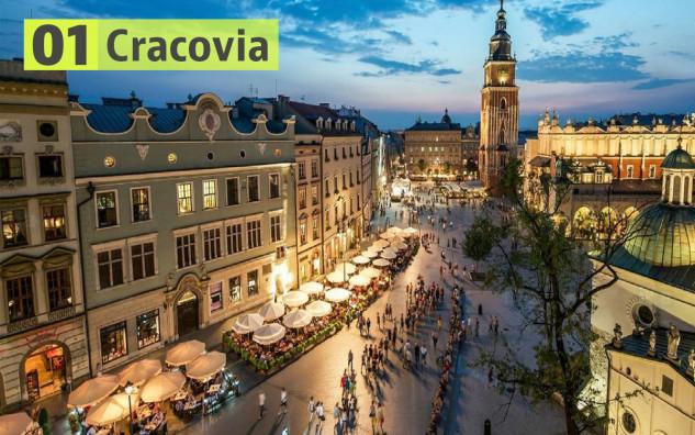 Cracovia (Polonia): 188 euros