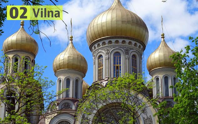 Vilna (Lituania): 189 euros
