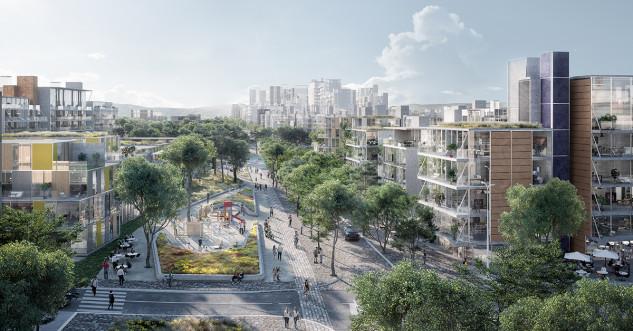 Un gran parque que unirá Madrid por el norte / Distrito Castellana Norte
