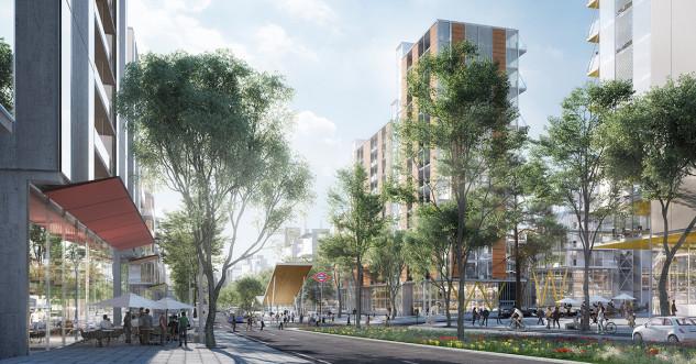 El Paseo de la Castellana por el Norte será peatonal / Distrito Castellana Norte