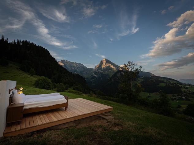 Imagínate pasar una noche aquí