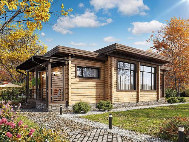 Laminated Log House Kit 56.200 euros
