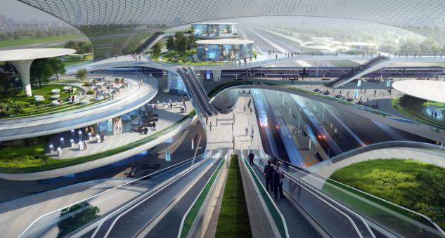 Tercer diseño / CPK Zaha Hadid Architects